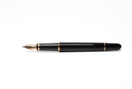 Fountain Pen「Fountain pen on a white background」:スマホ壁紙(10)