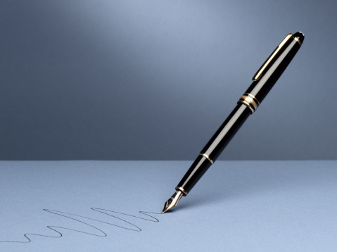 Fountain Pen「Fountain Pen with Squiggle」:スマホ壁紙(19)