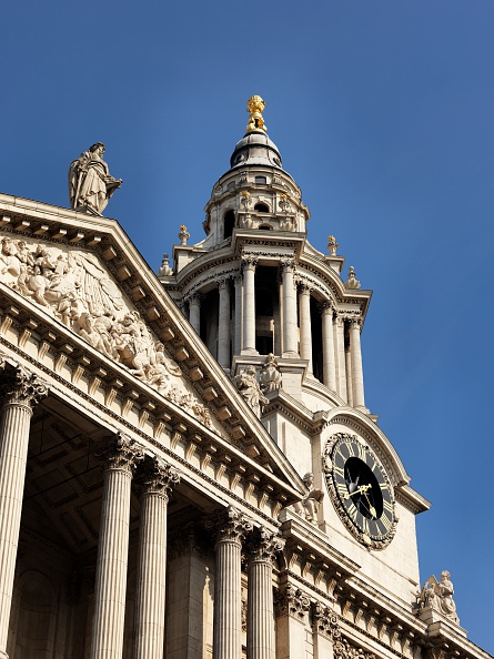 17th Century「West elevation of St Paul's Cathedral, City of London, 2012」:写真・画像(5)[壁紙.com]