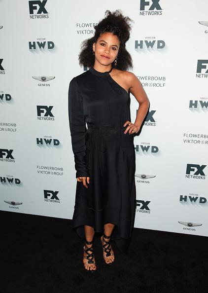 Zazie Beetz「FX and Vanity Fair Emmy Celebration - Arrivals」:写真・画像(10)[壁紙.com]
