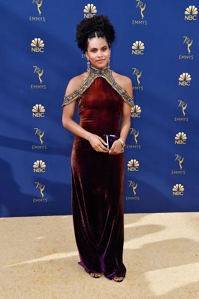 ドロップイヤリング「70th Emmy Awards - Arrivals」:写真・画像(12)[壁紙.com]