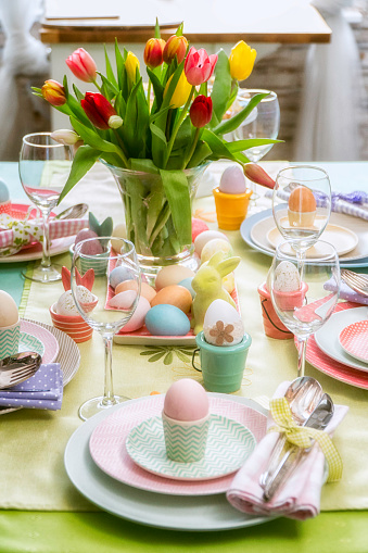 Easter「Easter Place Setting」:スマホ壁紙(9)