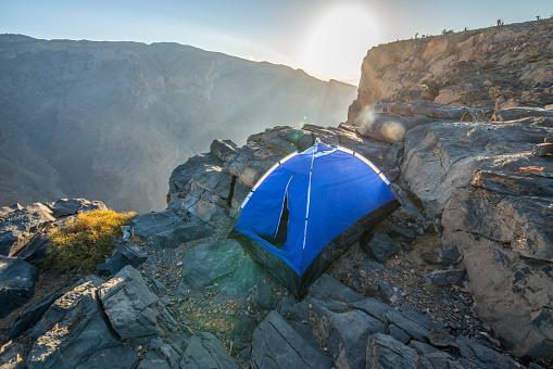 Tent「Camp at sunrise」:スマホ壁紙(5)