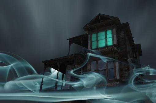 Horror「Glowing Vapor Surrounding House」:スマホ壁紙(11)