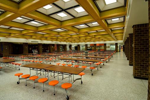 High School Building「Lunchroom」:スマホ壁紙(16)