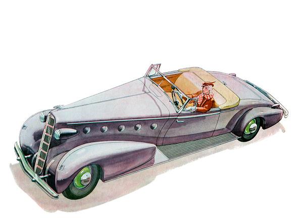 運転手「Woman Driving Convertible」:写真・画像(5)[壁紙.com]