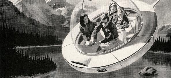Futuristic「Family In Flying Saucer」:写真・画像(5)[壁紙.com]