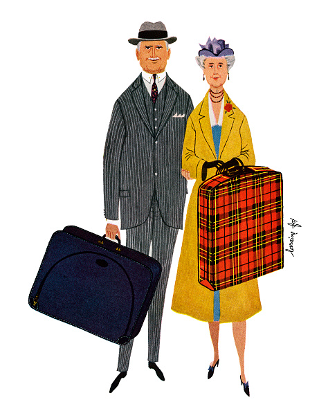 Senior Couple「Senior Couple With Suitcases」:写真・画像(15)[壁紙.com]