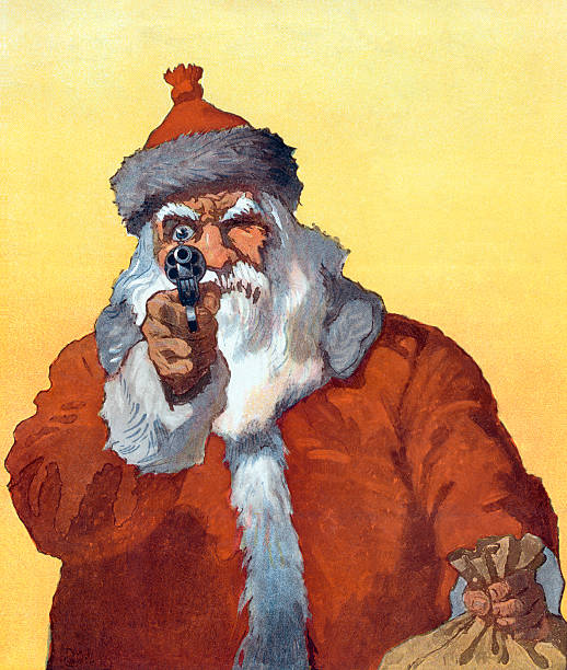 Santa Claus Pointing A Gun:ニュース(壁紙.com)