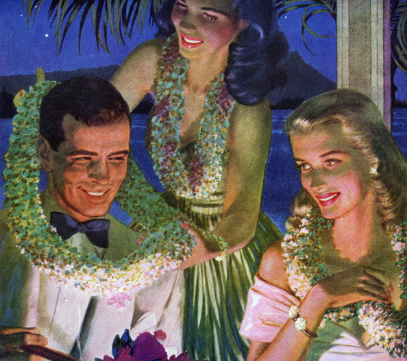 オアフ島「Wealthy Couple At Club」:写真・画像(3)[壁紙.com]