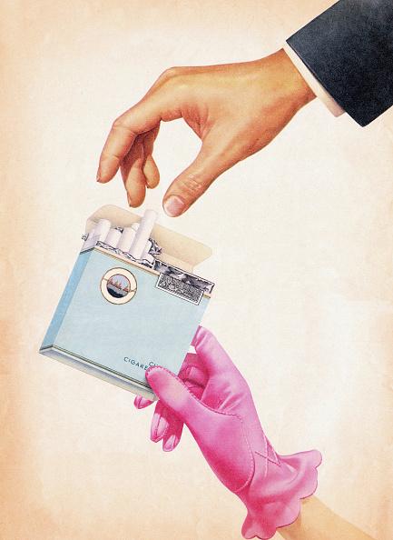 Hand「Woman Offering Man Cigarette」:写真・画像(9)[壁紙.com]