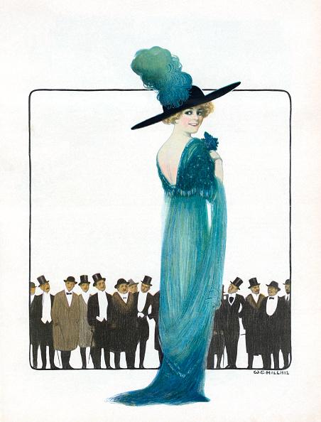1910-1919「Men Admiring Beautiful Woman」:写真・画像(2)[壁紙.com]