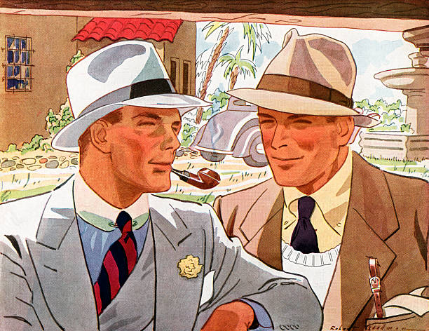 Two Men In Suits And Hats:ニュース(壁紙.com)