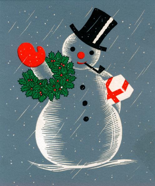 雪だるま「Christmas Snowman」:写真・画像(13)[壁紙.com]
