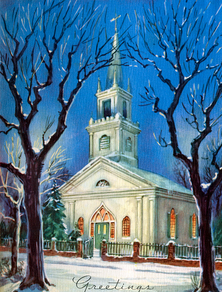 Holiday - Event「Church In Snow At Christmas」:写真・画像(1)[壁紙.com]