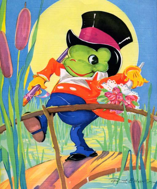 Frog Holding Bouquet:ニュース(壁紙.com)