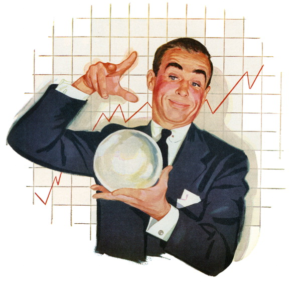 Making Money「Businessman With Crystal Ball」:写真・画像(2)[壁紙.com]