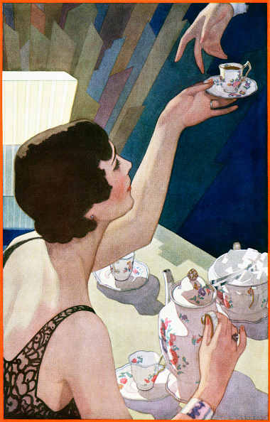 Teapot「1920s Woman Serving Beverage」:写真・画像(10)[壁紙.com]