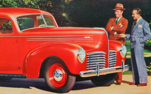 GraphicaArtis「1940 Hudson Automobile」:写真・画像(2)[壁紙.com]