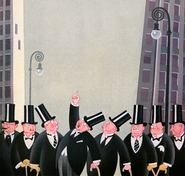Bank Manager「Rich Men On Wall Street」:写真・画像(1)[壁紙.com]