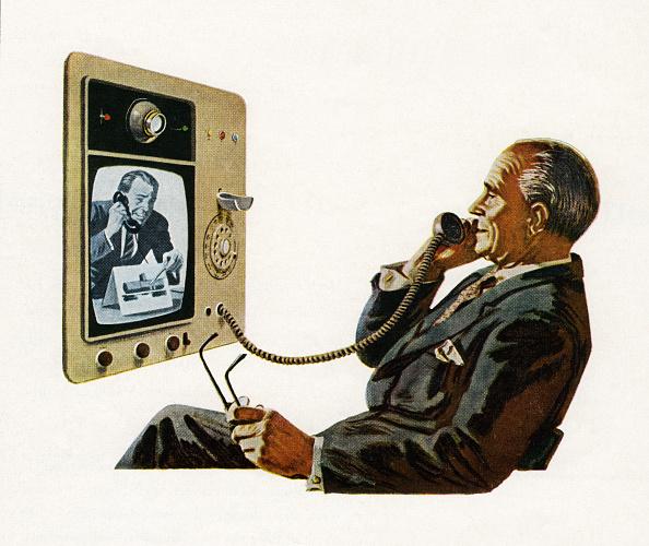 Futuristic「Futuristic Video Telephone」:写真・画像(10)[壁紙.com]
