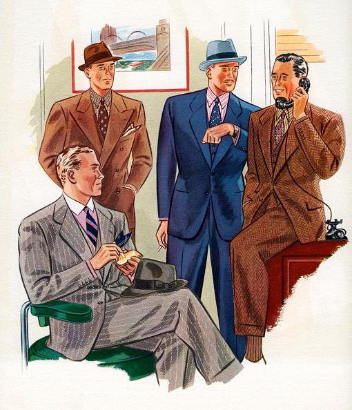 1940-1949「Four Businessmen In An Office」:写真・画像(11)[壁紙.com]