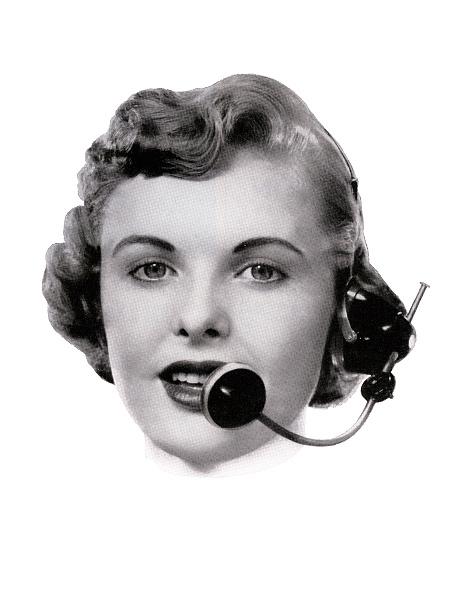 Obsolete「Telephone Operator And Headset」:写真・画像(11)[壁紙.com]