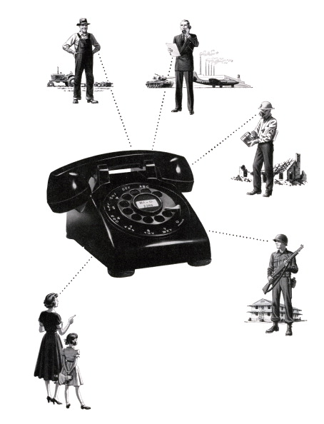Obsolete「People Connected By Telephone」:写真・画像(11)[壁紙.com]