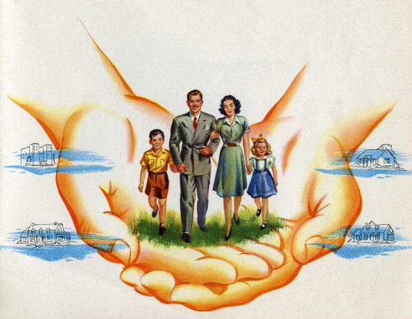 Hand「Family Protected By Hands」:写真・画像(9)[壁紙.com]