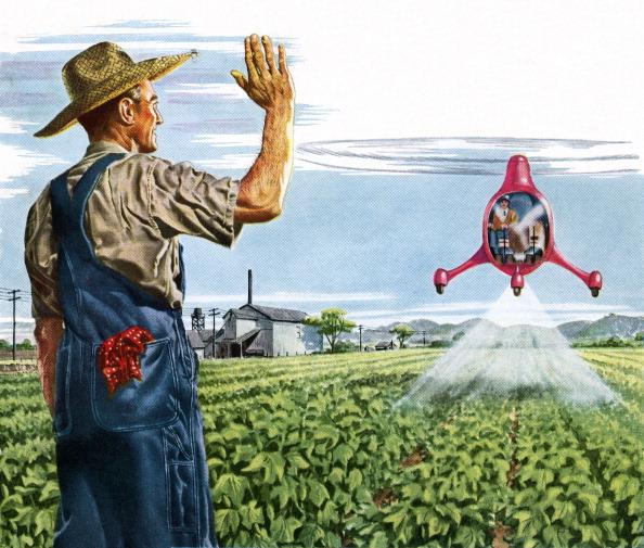 Spray「Farmer Waving To A Crop Duster」:写真・画像(16)[壁紙.com]