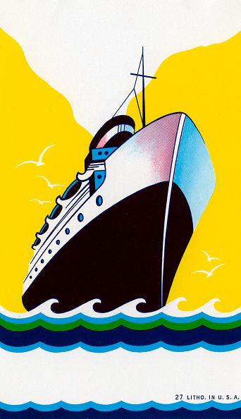 GraphicaArtis「Cruise Ship And Stylized Waves」:写真・画像(13)[壁紙.com]