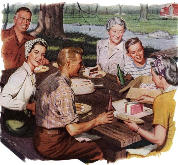 Perfection「Family On Picnic」:写真・画像(1)[壁紙.com]