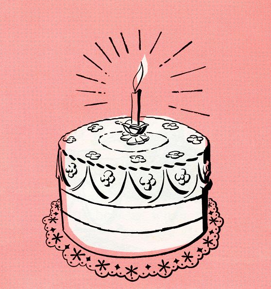 Sweet Food「Illustration Of Birthday Cake」:写真・画像(19)[壁紙.com]