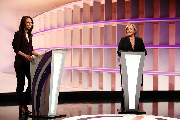 Leadership「Jacinda Ardern And Judith Collins Take Part In First TVNZ Leaders' Debate」:写真・画像(11)[壁紙.com]