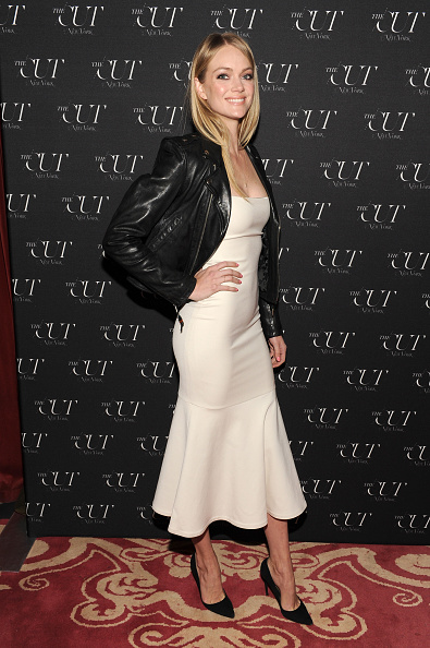 Leather Jacket「The Cut & New York Magazine's Fashion Week Party」:写真・画像(14)[壁紙.com]