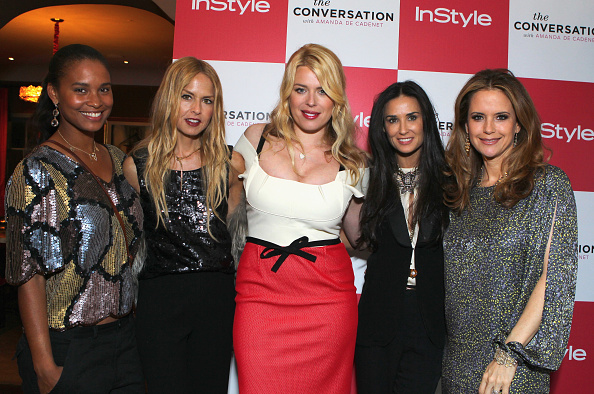 Pencil Dress「InStyle Celebrates the Launch of 'The Conversation with Amanda De Cadenet'」:写真・画像(16)[壁紙.com]