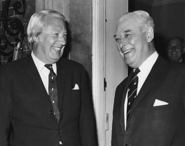 2人「Sir Keith Holyoake And Edward Heath」:写真・画像(1)[壁紙.com]