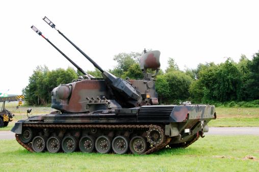 Anti-Aircraft「A Gepard anti-aircraft tank of the Belgian Army.」:スマホ壁紙(15)