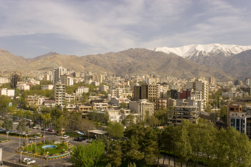 Iran「Teheran City aerial」:スマホ壁紙(14)
