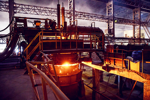Foundry「Ladle Refining Furnace at a Large Steel Factory」:スマホ壁紙(7)