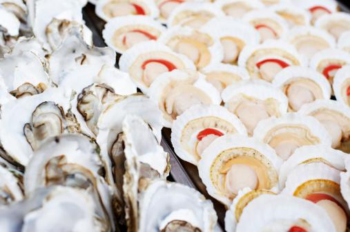 はまぐり料理「カキやホタテ貝」:スマホ壁紙(4)