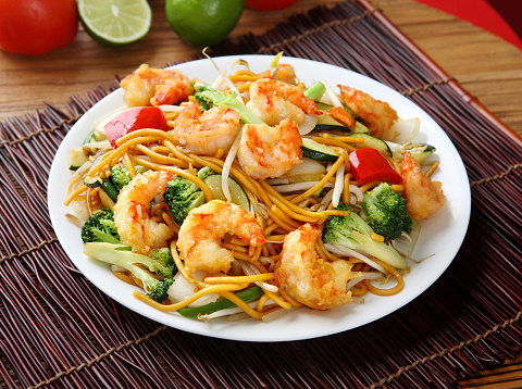 Bean Sprout「Shrimp Chow mein」:スマホ壁紙(1)