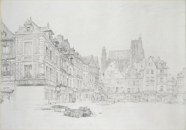 Pencil「Study For Detail Of The Market-Place」:写真・画像(16)[壁紙.com]
