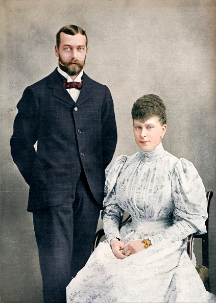 George C「The Future King George V And Queen Mary Shortly After Their Marriage」:写真・画像(18)[壁紙.com]