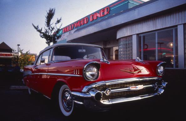 カラー画像「Chevrolet Bel Air」:写真・画像(13)[壁紙.com]