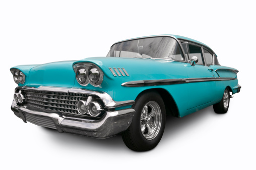 Old-fashioned「Chevrolet Bel Air from 1958」:スマホ壁紙(12)