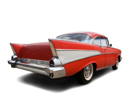 Sports Car「Chevrolet Bel Air 1957 - Rear View」:スマホ壁紙(16)