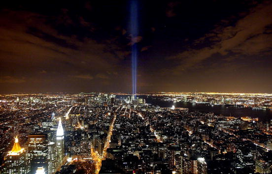 Empire State Building「Tribute in Light Memorial」:写真・画像(5)[壁紙.com]