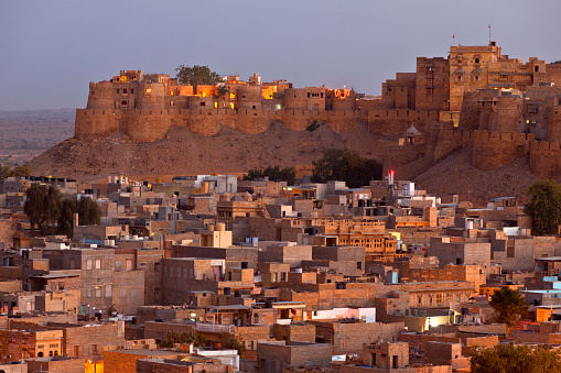 Rajasthan「Town of Jaisalmer and Jaisalmer Fort」:スマホ壁紙(18)