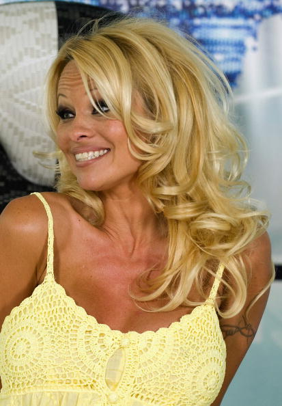 Baby Doll Dress「Pamela Anderson Press Conference Ahead Of Big Brother Appearance」:写真・画像(9)[壁紙.com]